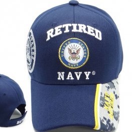 MI-611 NAVY RETIRED CAMO BILL NAVY