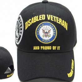 MI-617 NAVY DISABLED VETERAN BLACK