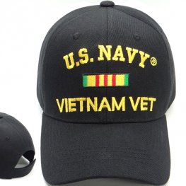 MI-619 NAVY VIETNAM VETERAN BLACK