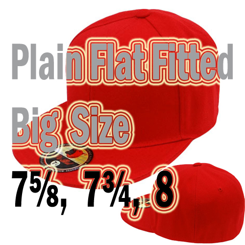 FT-001 Flat Fitted Big Size