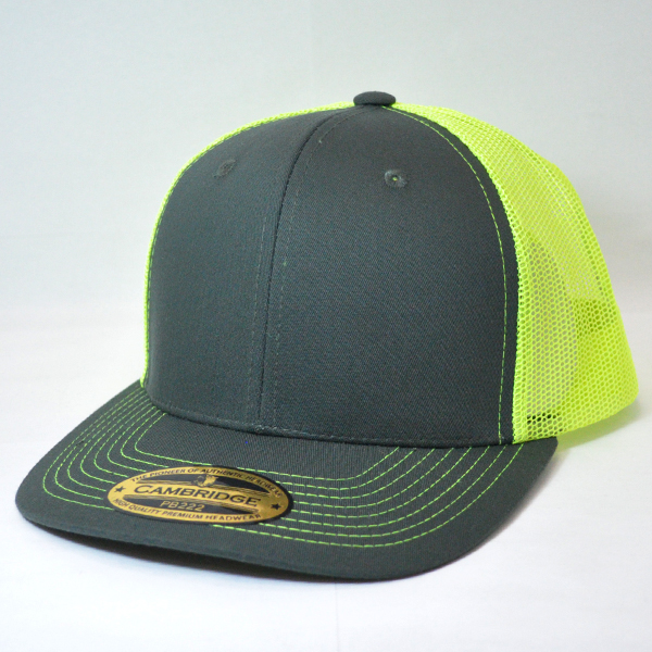 CB207 CHARCOAL NEON YELLOW
