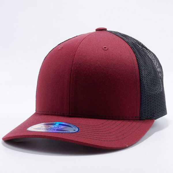 CB801 BURGUNDY BLACK