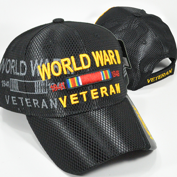 MEMI-225 NEWMESH WORLD WAR II BLACK