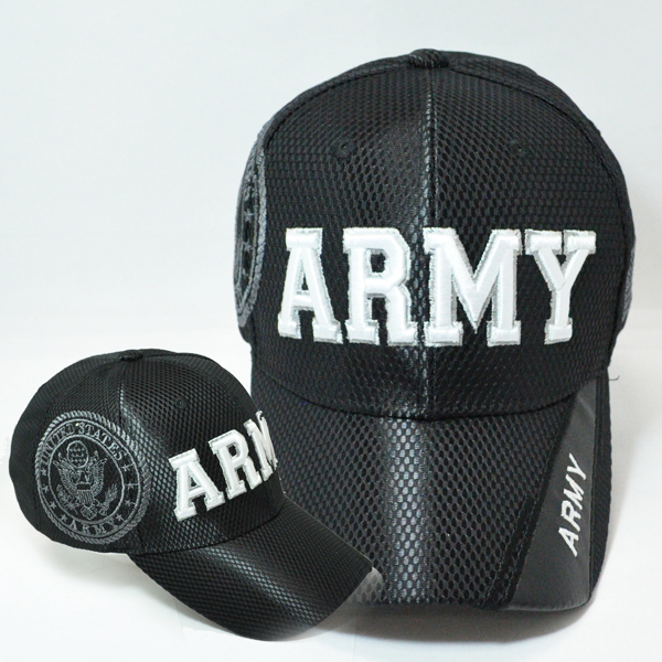 MEMI-264 NEW MESH ARMY BLACK