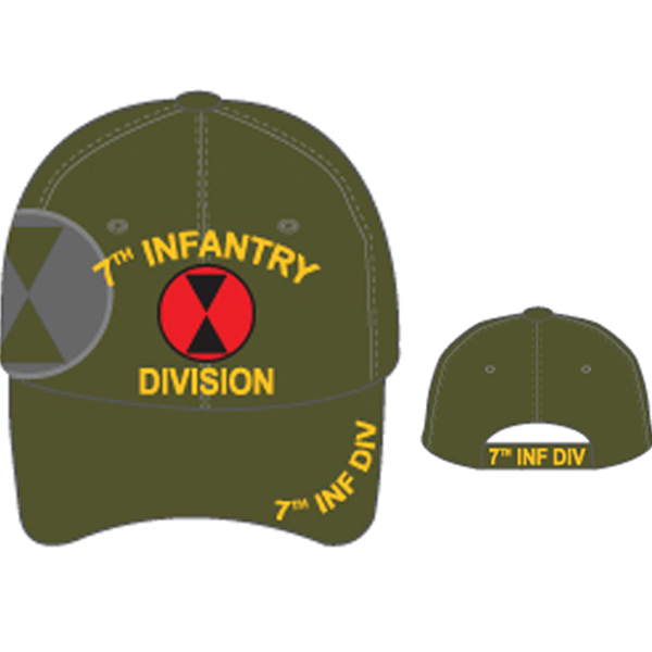 MI-217 7TH INFANTRY DIVI OLIVE