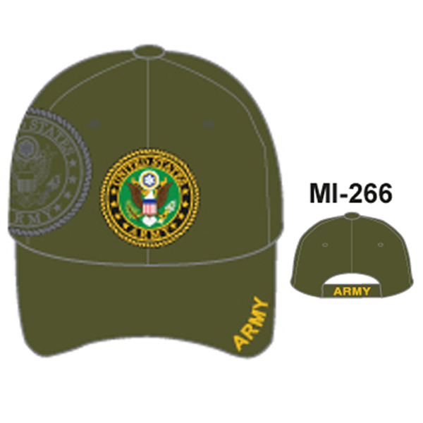 MI-266 ARMY SHIELD OLIVE