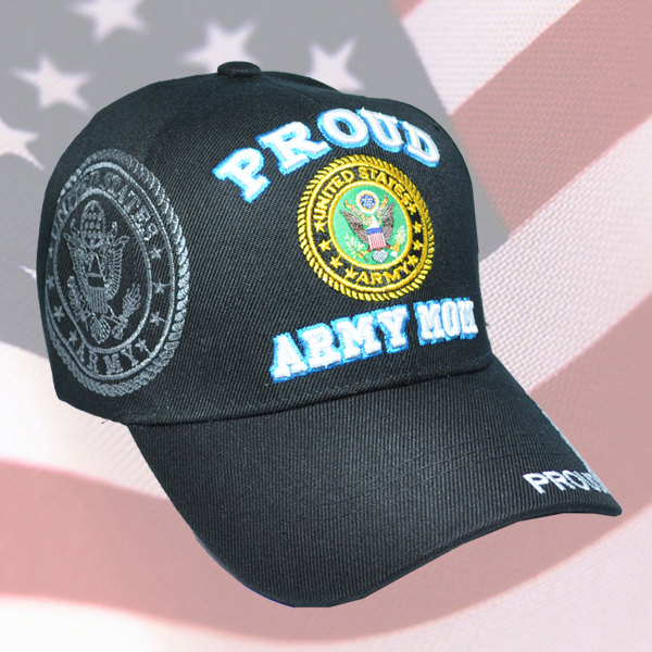 MI-584 PROUD ARMY MOM BLK