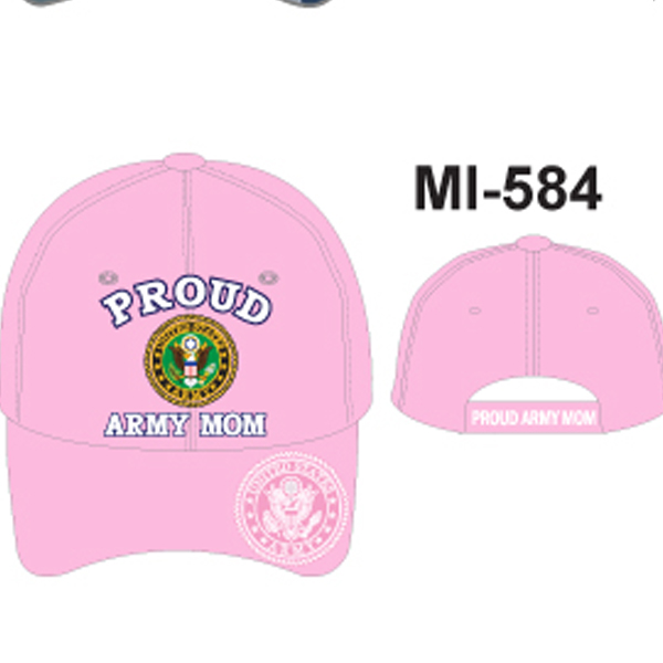 MI-584 PROUD ARMY MOM PINK