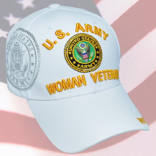 MI-700 ARMY WOMAN VET WHITE