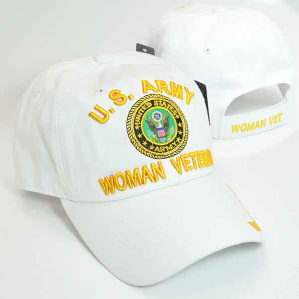 MIC-700 ARMY WOMAN VETERAN WHT