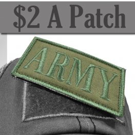 ARMY PATCH GREEN