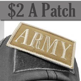 ARMY PATCH KHAKI