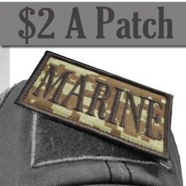 MARINE DIGITAL CAMO PATCH