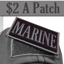 MARINE PATCH GREY