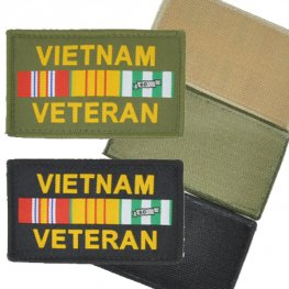 MI-076 VIETNAM VETERAN VELCRO PATCH