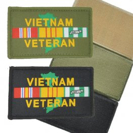 MI-243 VIETNAM VETERAN VELCRO PATCH