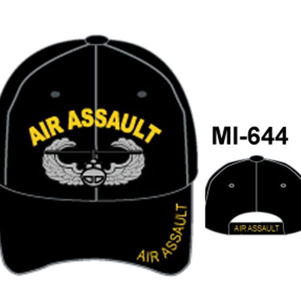 MI-644 AIR ASSAULT BLACK
