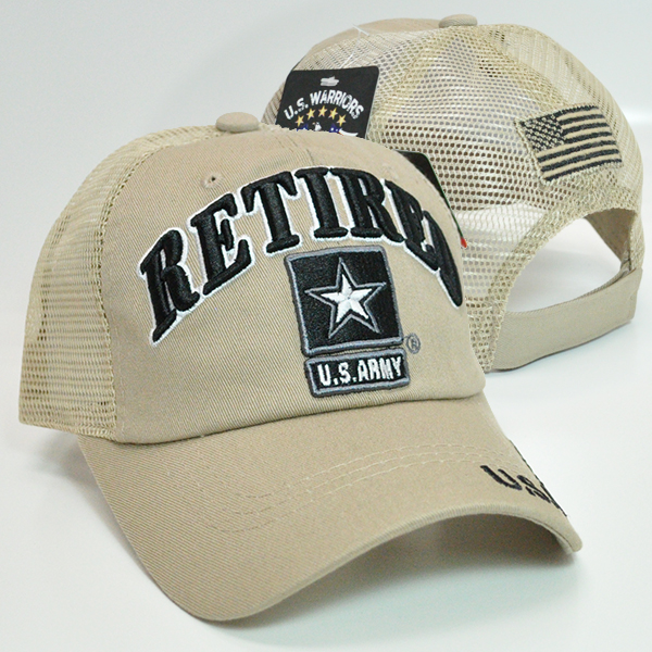 TRMI-355 ARMY RETIRED TRUCKER BGBG