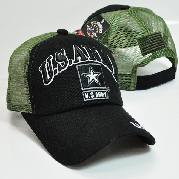 TRMI-356 US ARMY TRUCKER BLKOLV
