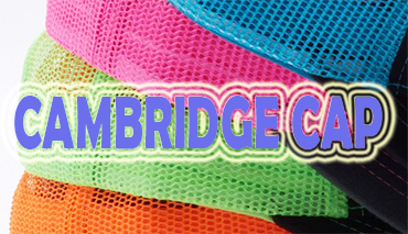 CAMBRIDGE trucker CAP