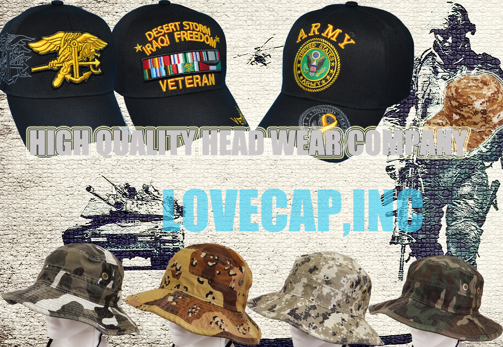 Welcome to our online store Choice Cap is a manufacturer and wholesaler. Choice Cap is poised to capture a larger market share by opening new wholesale stores nationwide